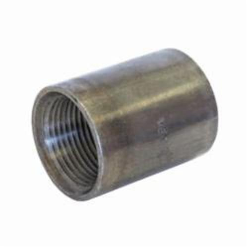 0320200157 Taper Tapped Pipe Coupling, 1 in, SCH 40/STD, Threaded, Black