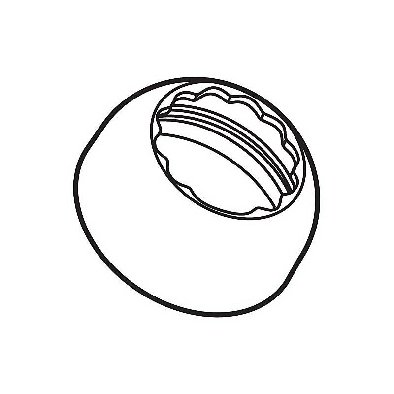Brizo® RP60116BL Venuto® Bonnet Cap, Domestic