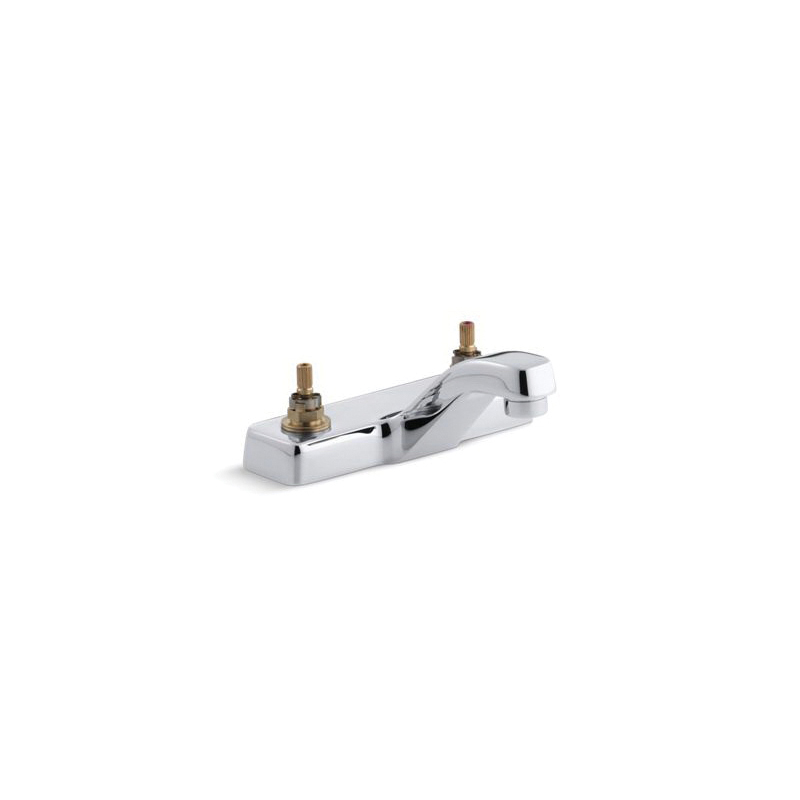 Kohler® 7404-K-CP Centerset Bathroom Sink Faucet, Triton™, Polished Chrome, 1.5 gpm