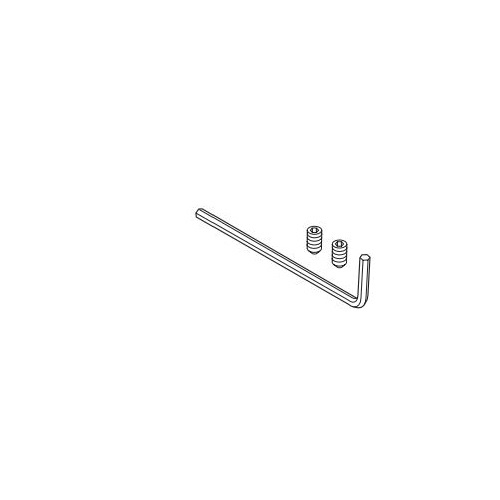 Brizo® RP63873 Siderna® Alen Key and Set Screw, For Use With Model 694680 Towel Ring, Import