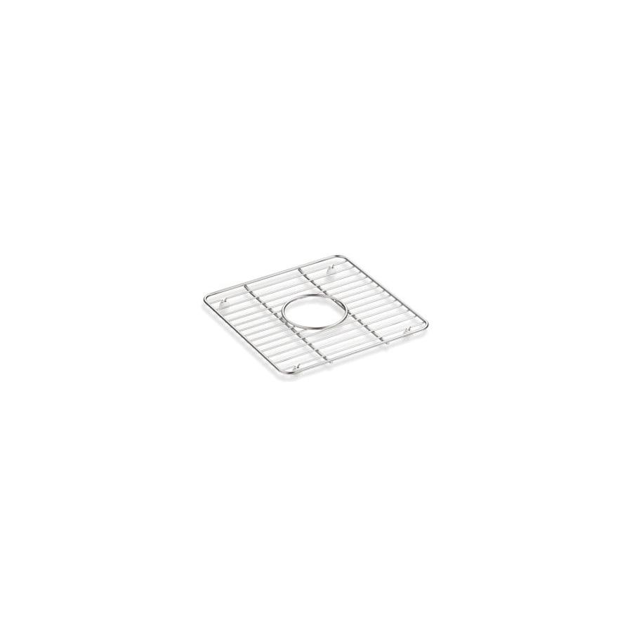 Kohler® 5658-ST Cairn® Sink Rack, 11-3/16 in Lx11-3/16 in Wx1 in H, Stainless Steel