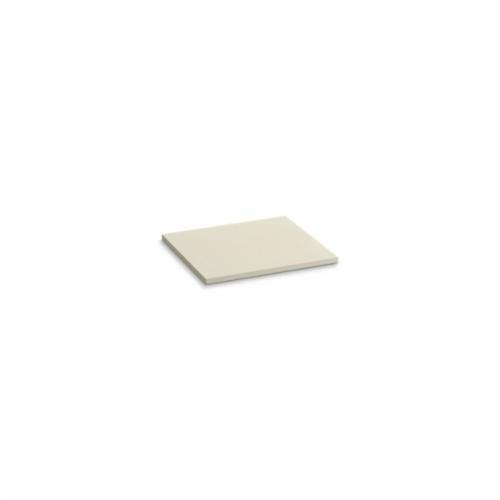 Kohler® 5436-S34 Solid/Expressions™ Vanity Top Without Cutout, 22-3/8 in OAWx22-13/16 in OADx1 in OAH, Stone Almond Top