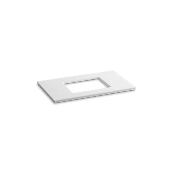 Kohler® 5457-S33 Solid/Expressions™ Bathroom Sink, 37-5/8 in OAWx22-13/16 in OADx1-1/4 in OAH, White