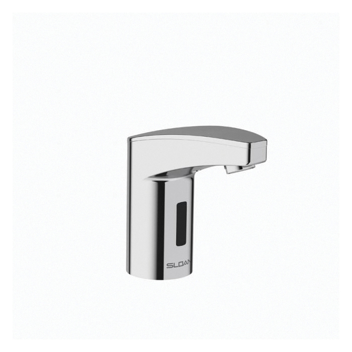 Sloan® Optima Plus® 3335111 EAF-350 Sink Faucet, 0.5 gpm, 4-3/64 in H Spout, 1 Faucet Holes, Polished Chrome, Function: Touchless, Commercial
