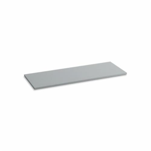 Kohler® 5441-S36 Solid/Expressions™ Vanity Top Without Cutout, 22-3/8 in OAWx22-13/16 in OADx1 in OAH, Stone Ice Gray Top
