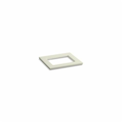 Kohler® 5455-S35 Solid/Expressions™ Vanity Top With Single Verticyl® Rectangular Cutout, 22-13/16 in OAWx22-13/16 in OADx1-1/4 in OAH, Stone Biscuit Top