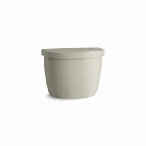 Kohler® 5692-G9 Toilet Tank, Cimarron®, 1.28 gpf, 3 in Pushbutton Flush, Sandbar