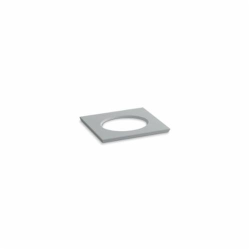 Kohler® 5421-S36 Solid/Expressions™ Vanity Top With Single Verticyl® Oval Cutout, 22-13/16 in OAWx22-13/16 in OADx1-1/4 in OAH, Stone Ice Gray Top