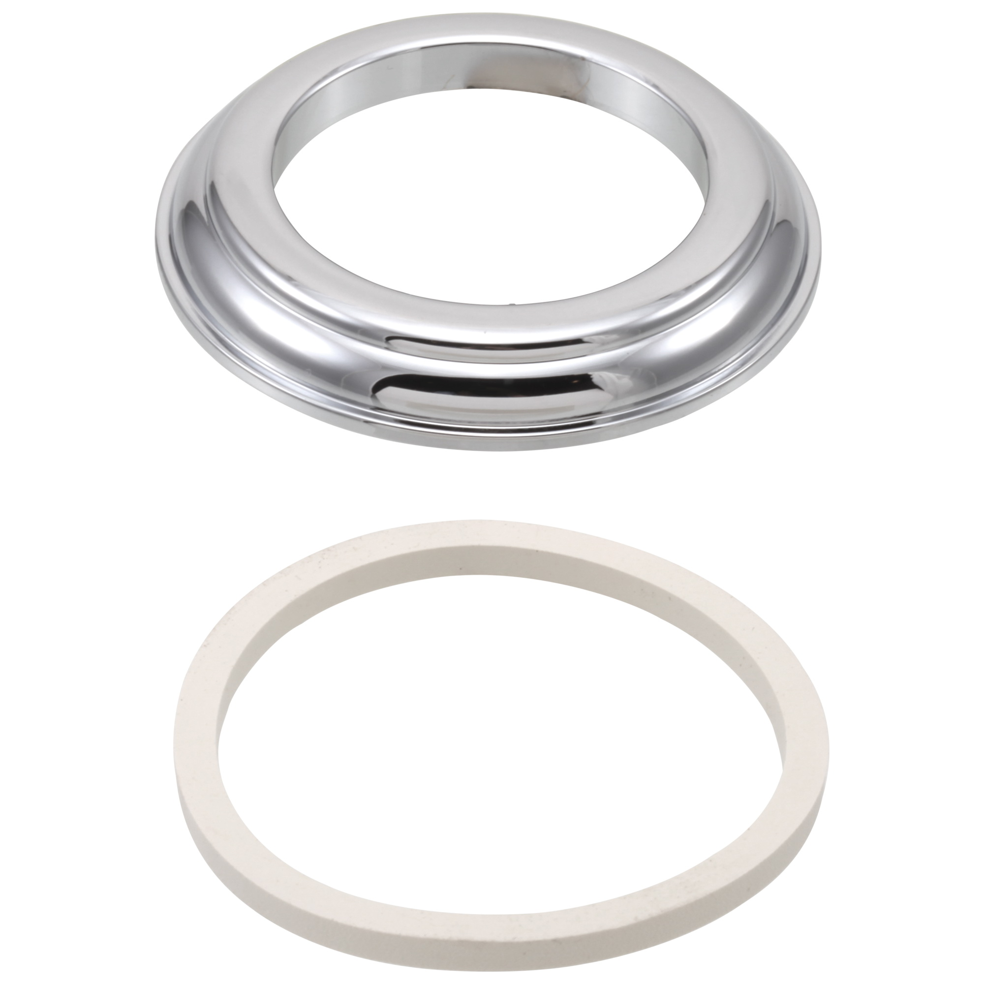 Brizo® RP23611 Base With Gasket, Chrome Plated, Domestic