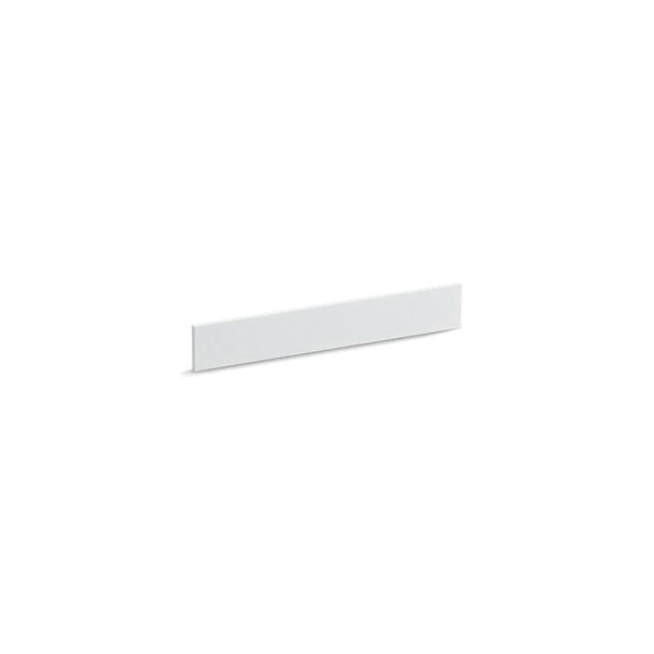 Kohler® 5451-S33 Solid/Expressions™ Universal Solid Surface Bathroom Vanity Top Back Splash, 21-1/4 in Lx3-1/2 in Wx1/2 in THK, Stone Composite