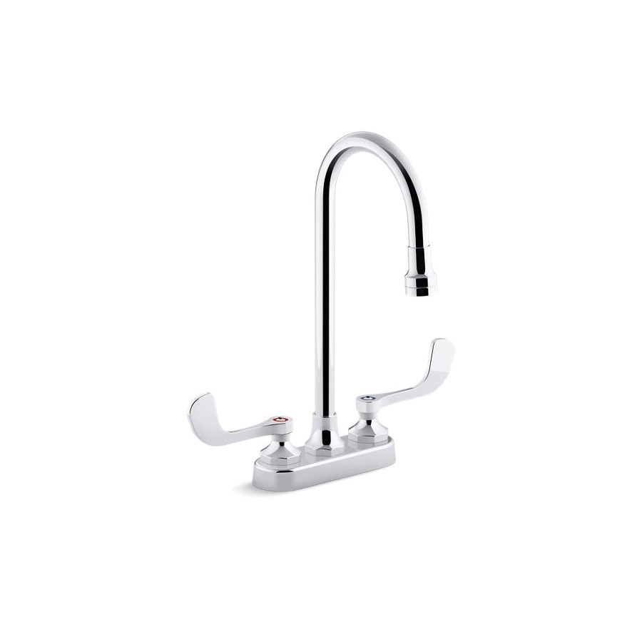 Kohler® 400T70-5AKA-CP Centerset Bathroom Sink Faucet, Triton® Bowe®, Polished Chrome, 2 Handles, 1 gpm