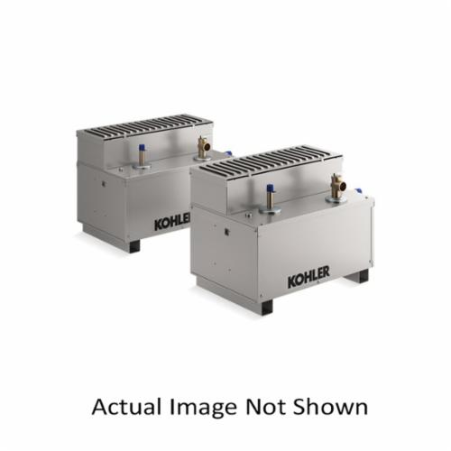 Kohler® 5546-NA Invigoration™ Steam Generator, 1/2 in NPT Steam Outlet, 3/8 in NPT Water Inlet, 240 VAC, 80 A