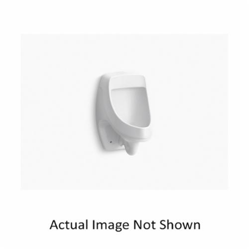 Kohler® 5452-ER-47 Dexter™ Washdown Urinal, 0.125 gpf, Rear Spud, Wall Mount, Almond