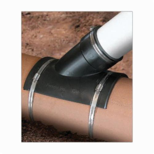 """GRAINGER APPROVED TSW-4 Flexible Tap Saddle Wye,For Pipe Size 4/"""""""