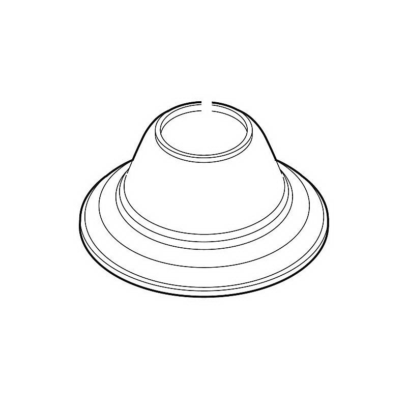 Brizo® RP52940PC Tresa® Roman Tub Handle Base, Polished Chrome, Domestic