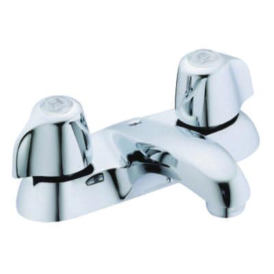 Gerber® Classics™ 43-411-65 Bathroom Faucet, Chrome Plated, 2 Handles, 1.5 gpm