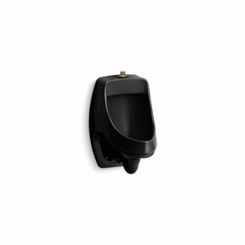 Kohler® 5452-ET-7 Dexter™ Washdown Urinal, 0.125 gpf, Top Spud, Wall Mount, Black