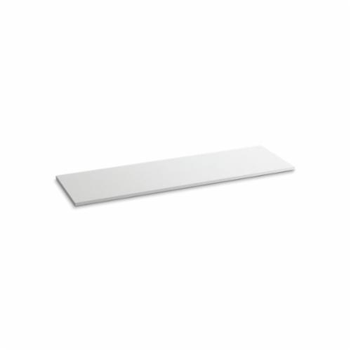 Kohler® 5442-S33 Solid/Expressions™ Vanity Top Without Cutout, 22-3/8 in OAWx22-13/16 in OADx1 in OAH, Stone White Top