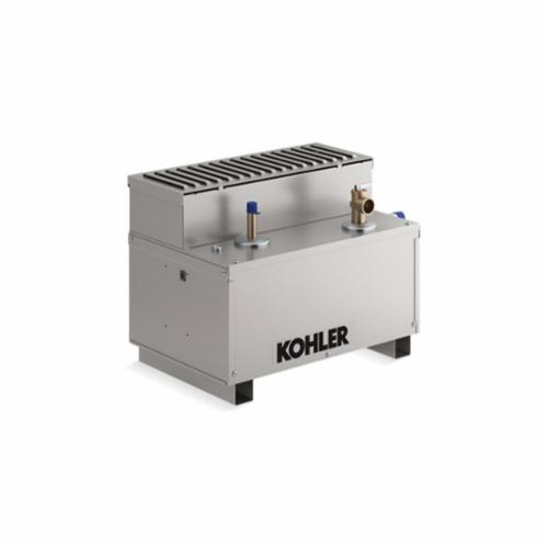 Kohler® 5533-NA Invigoration™ Steam Generator, 1/2 in NPT Steam Outlet, 3/8 in NPT Water Inlet, 240 VAC, 80 A