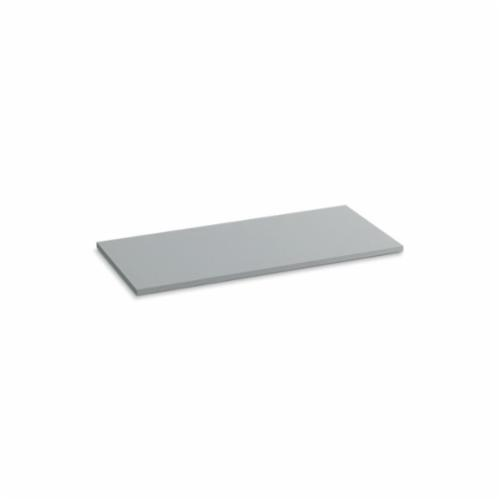 Kohler® 5439-S36 Solid/Expressions™ Vanity Top Without Cutout, 22-3/8 in OAWx22-13/16 in OADx1 in OAH, Stone Ice Gray Top