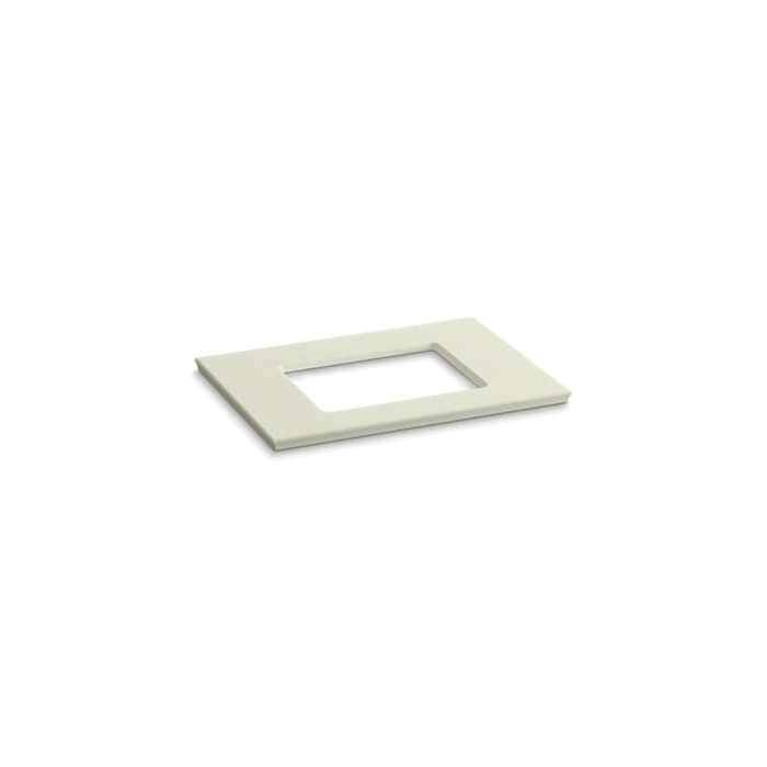 Kohler® 5456-S35 Solid/Expressions™ Bathroom Sink, 31-5/8 in OAWx22-13/16 in OADx1-1/4 in OAH, Biscuit