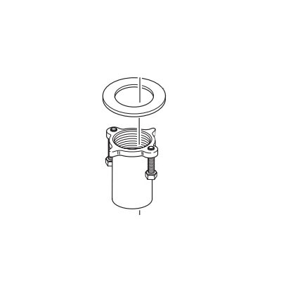 Brizo® RP62376 Mounting Nut and Washer, For Use With Model 65430LF 2-Handle Deck Vessel Widespread Lavatory Faucet
