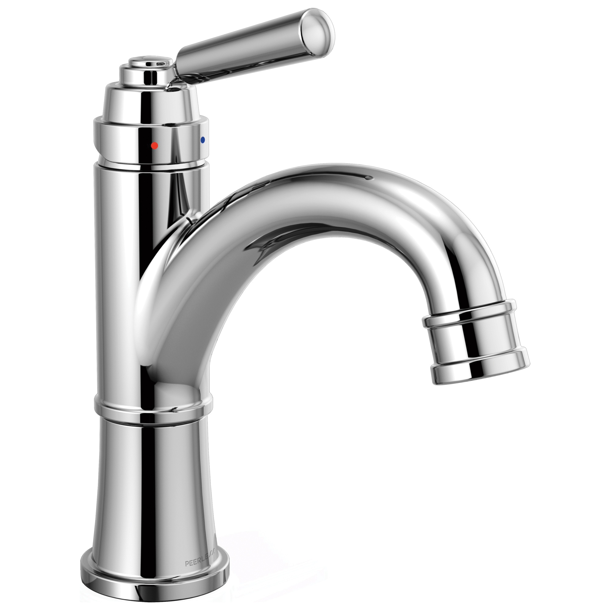Peerless® P1523LF Bathroom Faucet, Westchester™, Chrome Plated, 1 Handles, Pop-Up Drain, 1 gpm