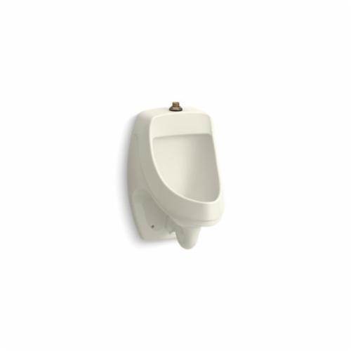 Kohler® 5452-ET-96 Dexter™ Washdown Urinal, 0.125 gpf, Top Spud, Wall Mount, Biscuit