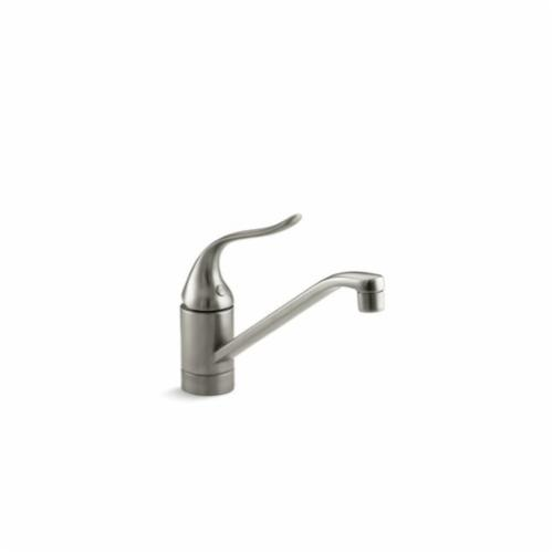 Kohler 15175 F Bn Coralais Kitchen Sink Faucet Without Escutcheon 1 8 Gpm 1 Handle Vibrant Brushed Nickel First Supply