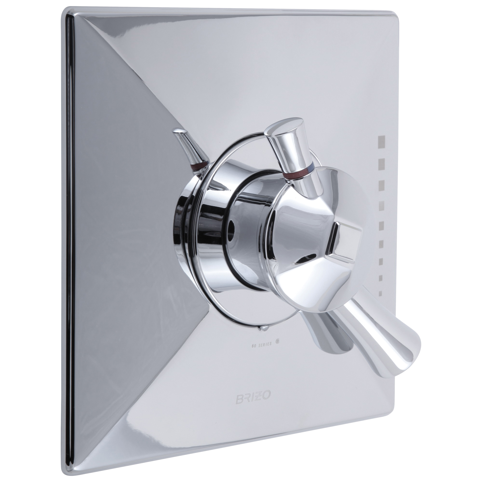Brizo® RP54314PC Conversion Trim Kit, For Use With 1900 Series Tub/Shower Faucet, Polished Chrome, Domestic