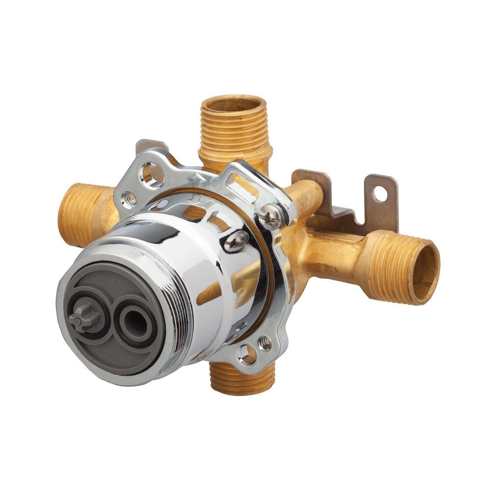 Gerber® G00GS505 Horizontal Input Tub and Shower Valve, Hand Shower: No