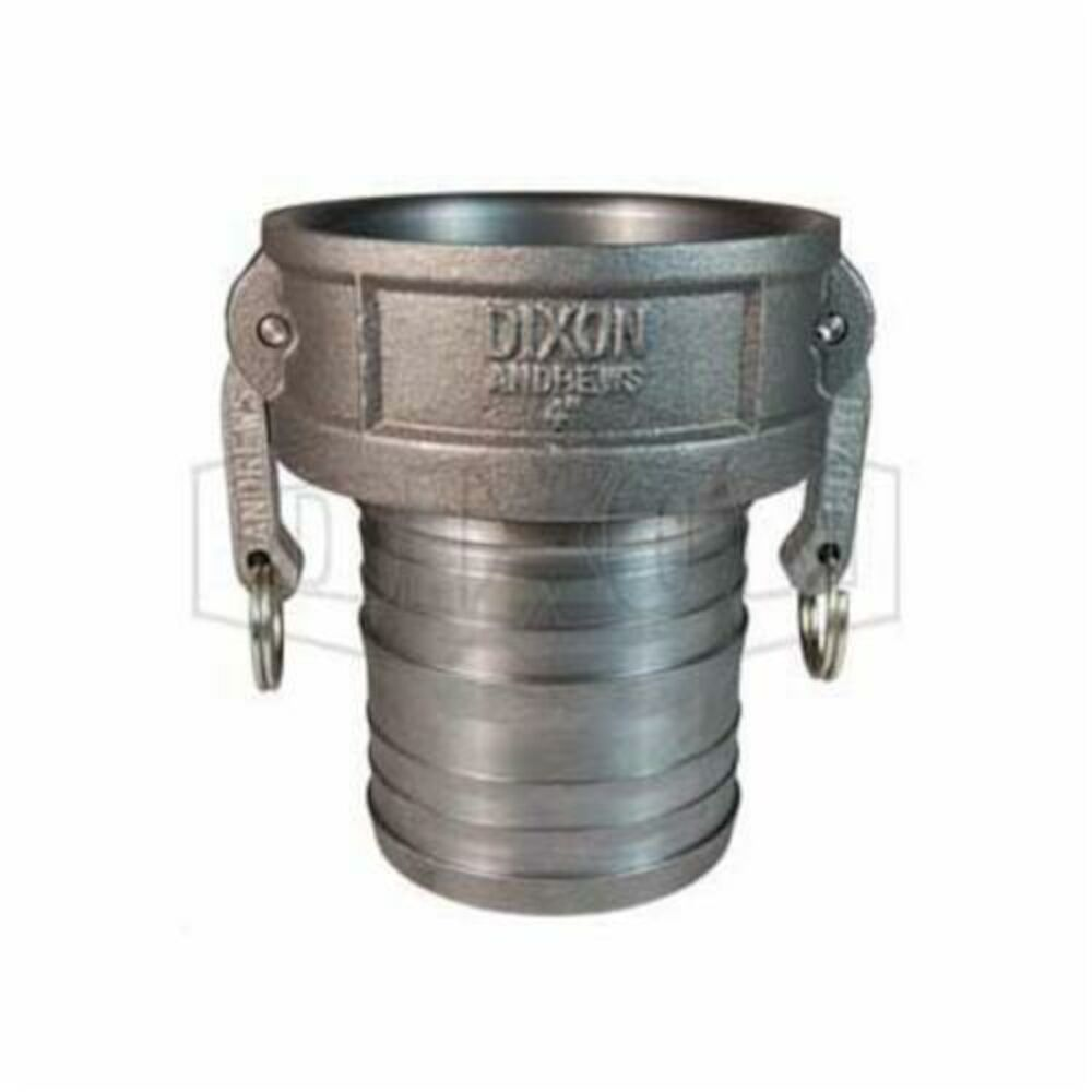 Dixon® 400-C-MI Type C Cam and Groove Coupler, 4 in, Female CouplerxHose Shank, Ductile Iron