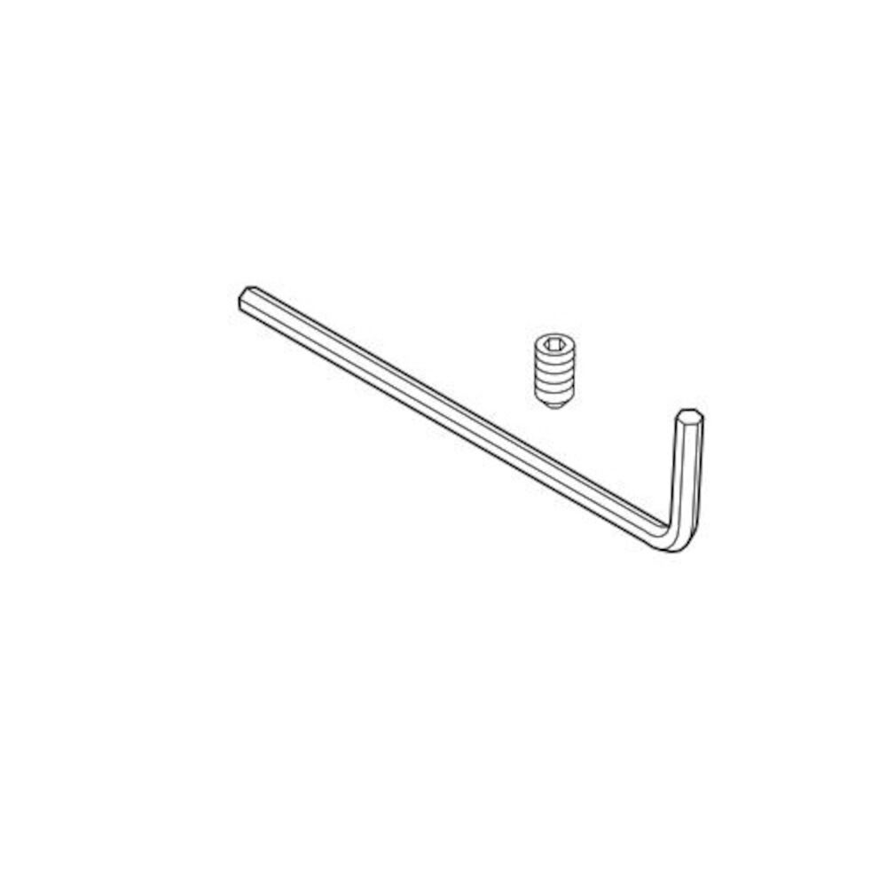 Brizo® RP70593 Charlotte® Hex Key and Set Screw, For Use With Model 697085 Light Fixture, Import