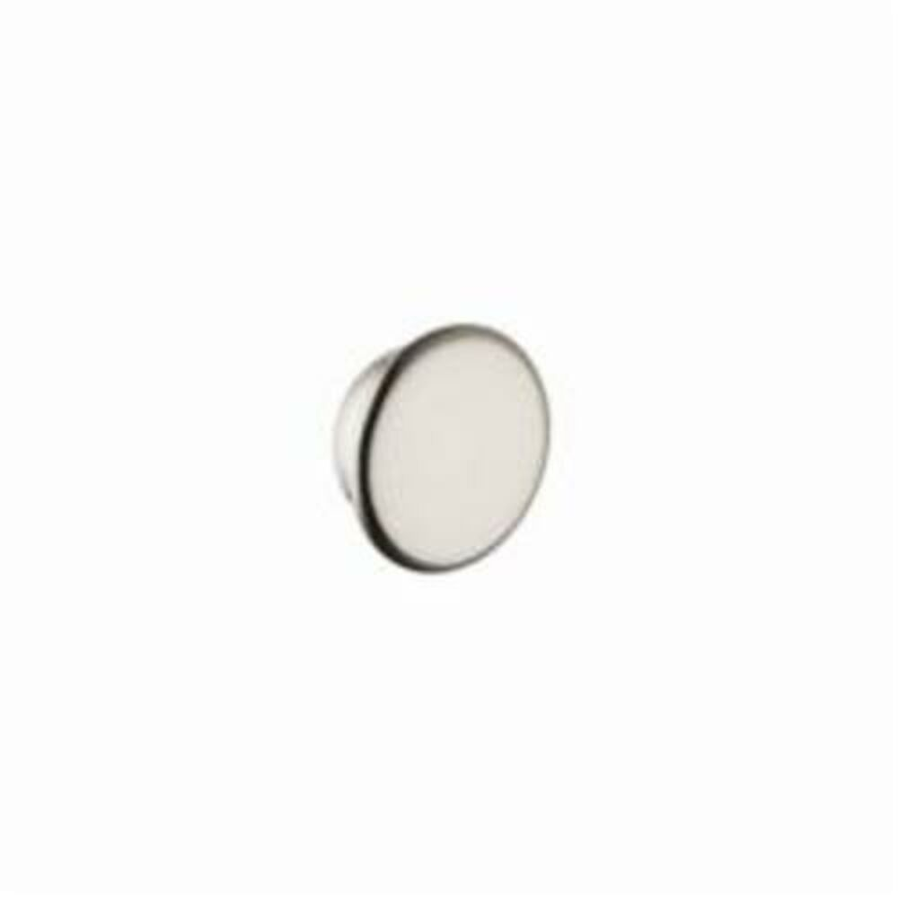 AXOR 16911820 Montreux Faucet Color Cap Set, Porcelain, Brushed Nickel, Import