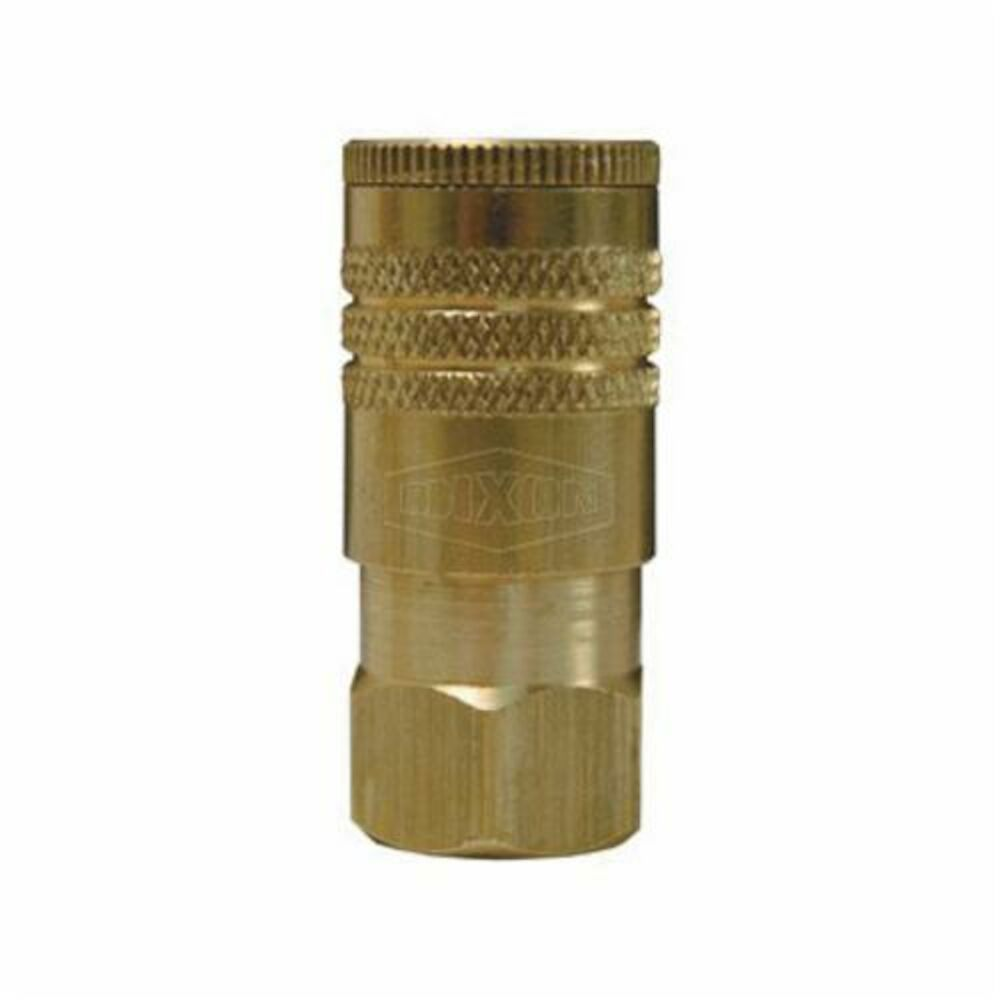 Dixon® DC Series Air Chief ARO Coupling, FNPT, Brass
