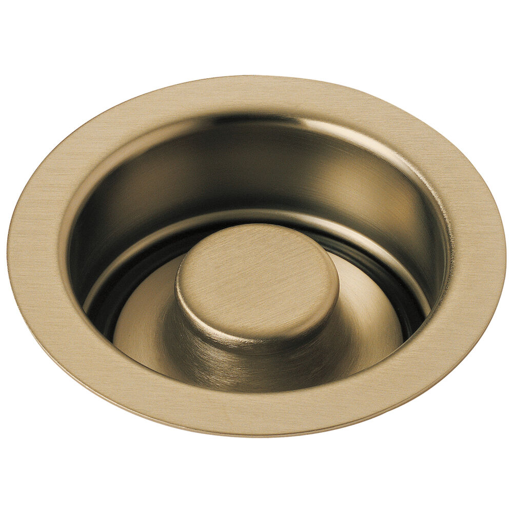 DELTA® 72030-CZ Disposal and Flange Stopper, For Use With Kitchen Sink, Brass, Brilliance® Champagne Bronze, Import