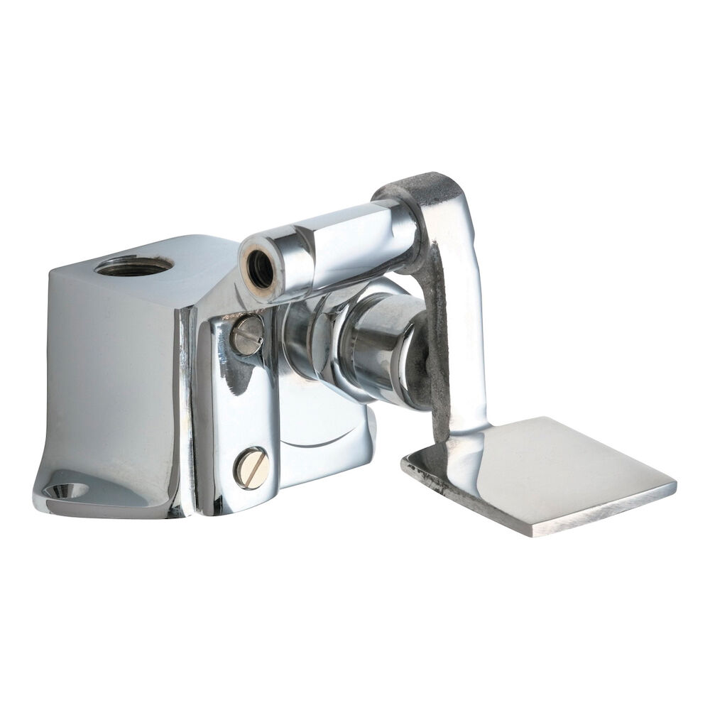 Chicago Faucet® 628-ABCP Single Supply Pedal Box With Short Pedal