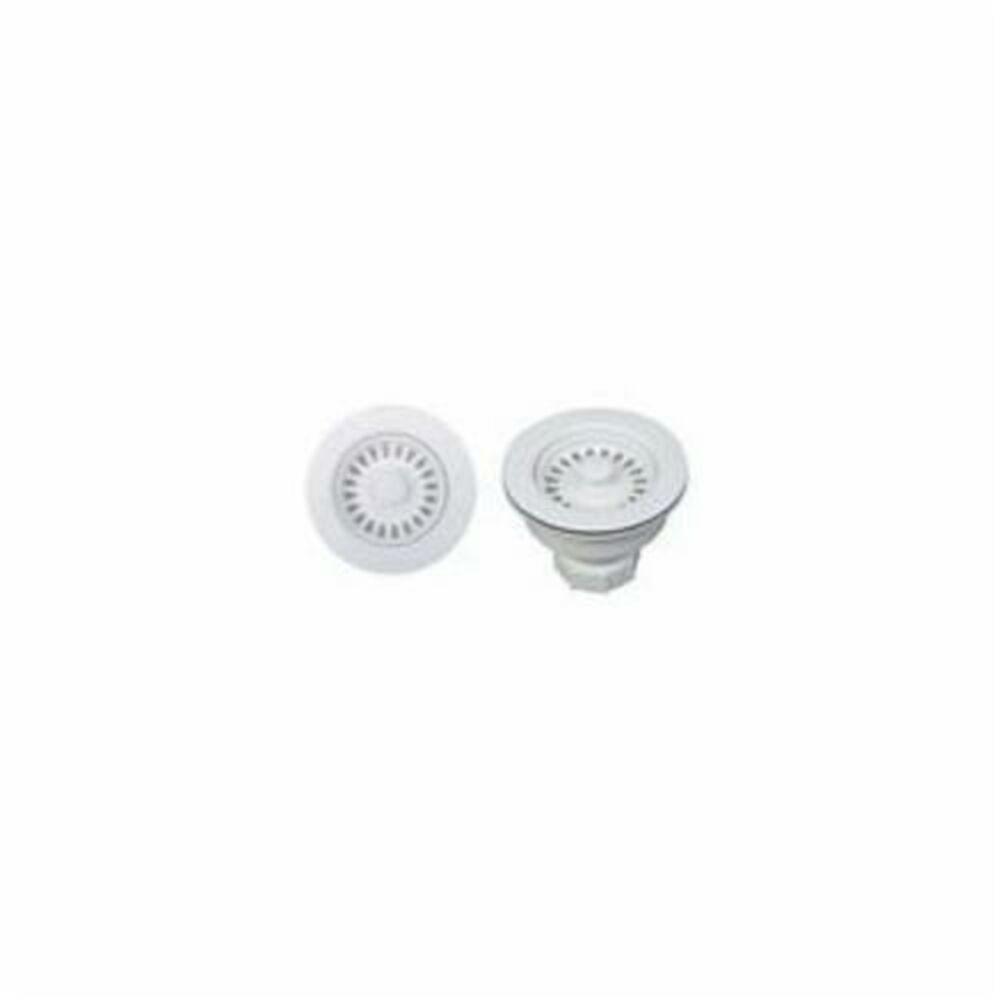 Blanco 441091 Decorative Basket Waste Strainer, Stainless Steel, White