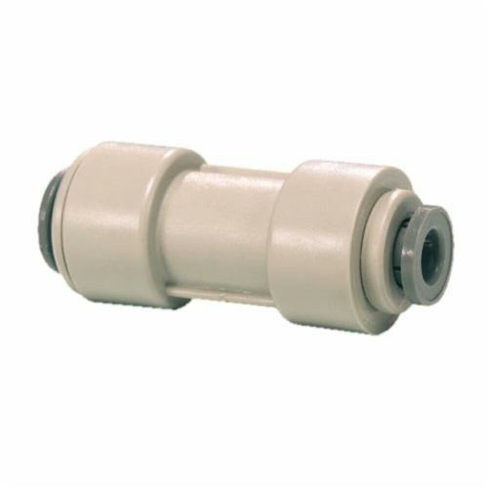 John Guest® Speedfit® PI201210S Reducing Straight Connector, 3/8x5/16 in, Tube, Acetal Copolymer, Domestic