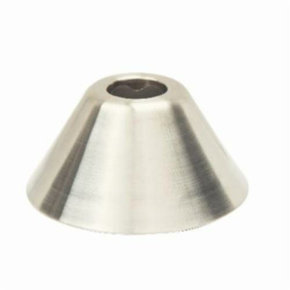 BrassCraft® 654 NS Bell Escutcheon, For Use With 1/2 in OD tube, 1.12 in H, Steel, Satin Nickel, Domestic