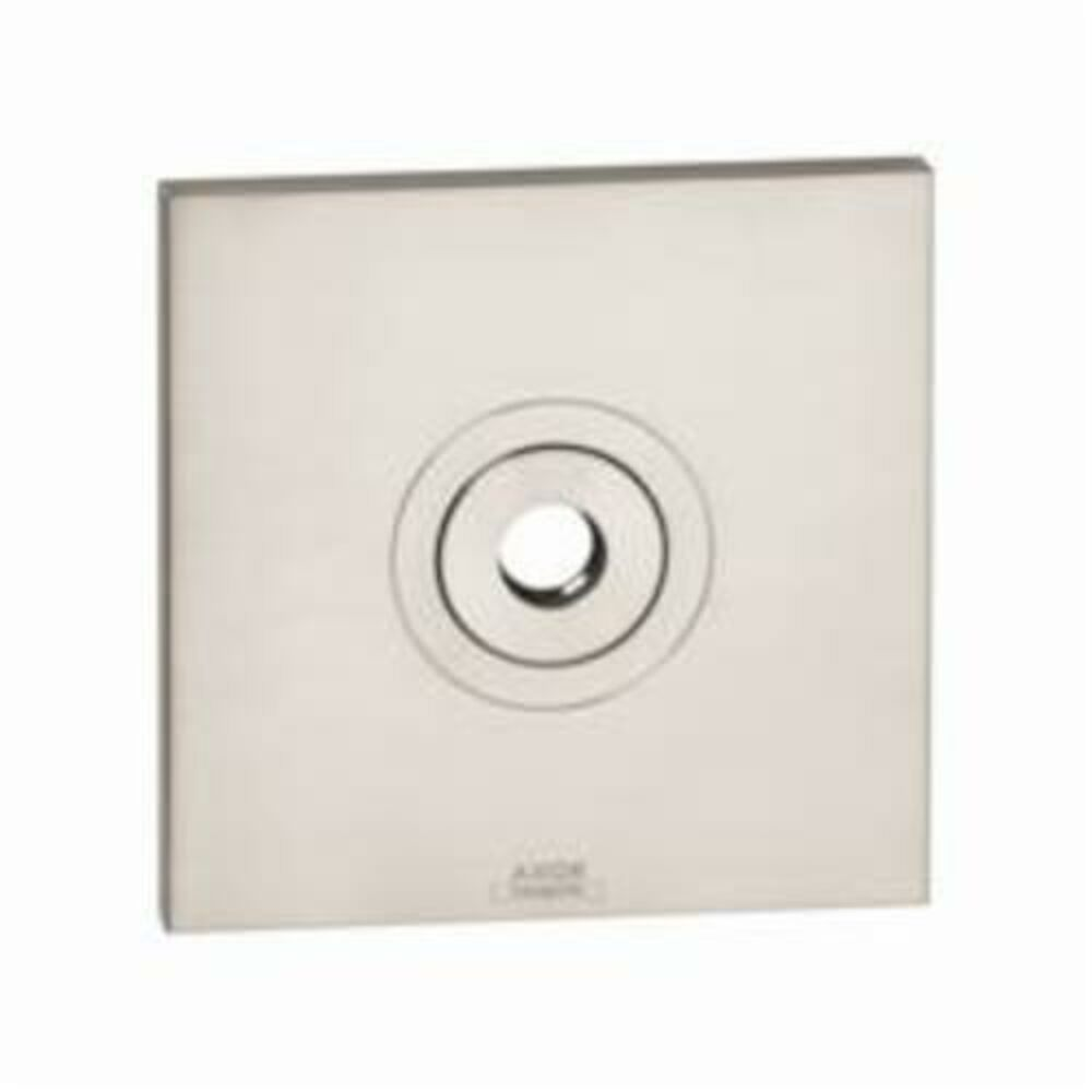AXOR 27419000 Citterio Wall Plate, For Use With 27422xx1 or 27413xx1 Model Raindance Showerarm, Metal, Chrome Plated