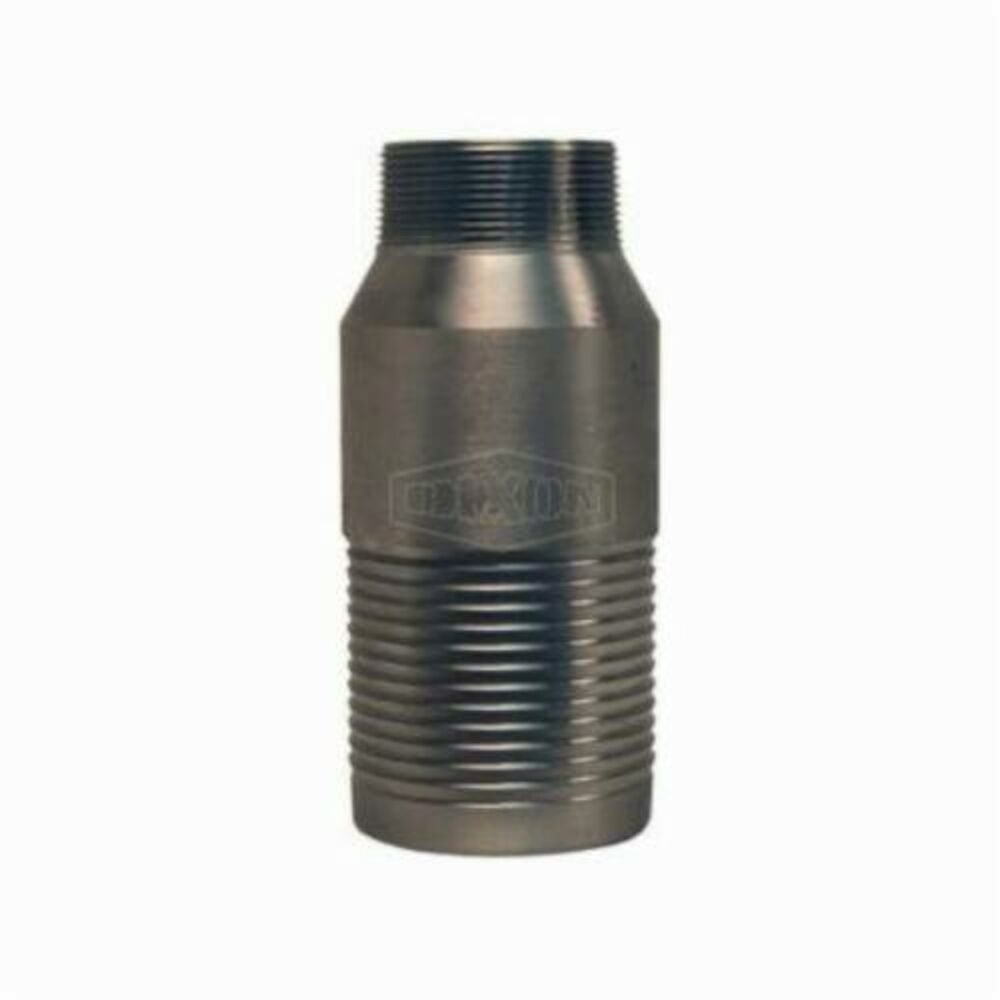 Dixon® RST1005 Jump Size King™ Combination Reducing Nipple, 3/4x1 in, NPTxHose Shank, 316 Stainless Steel, Domestic