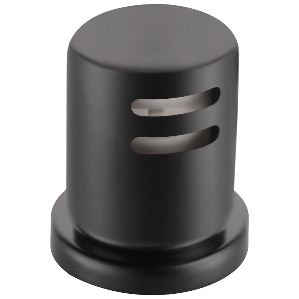 Brizo® 69060-BL Kitchen Faucet Air Gap, 1-7/8 in Dia Mounting Hole, 1/2 in THK Deck, Polyethylene, Matte Black, Import
