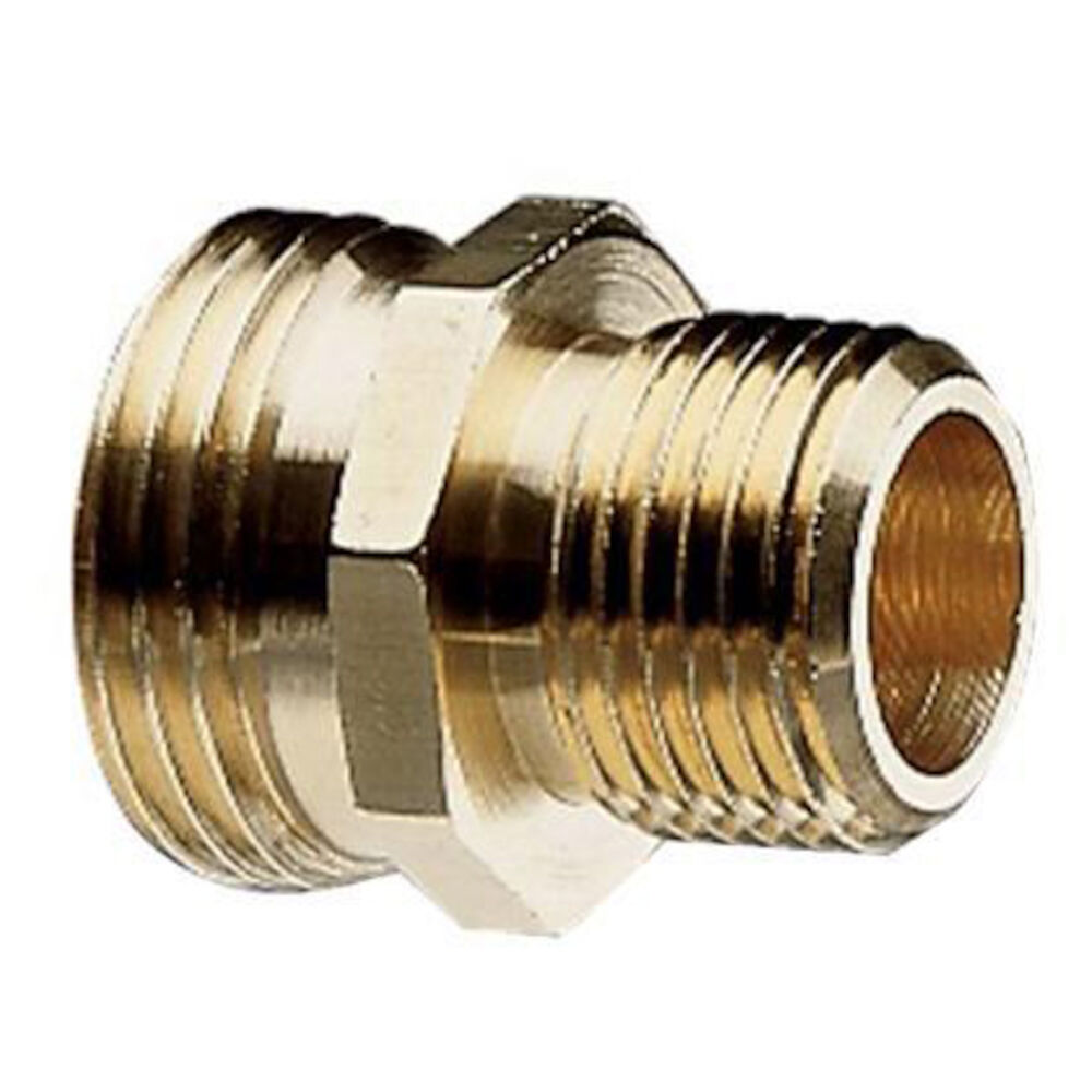 50570 3/4 MHx1/2 MPT Brass Pipe to Hose Fitting
