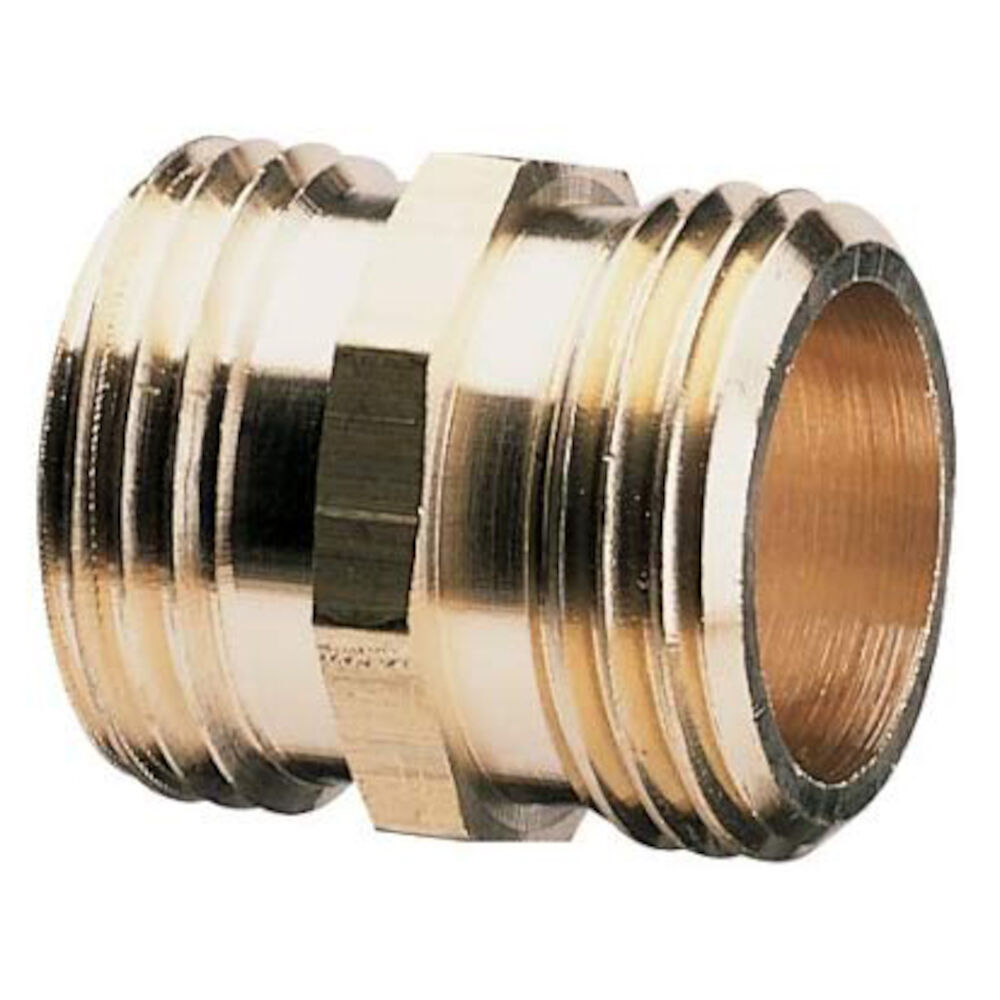 50573 3/4 MHx3/4 MH Brass Pipe to Hose Fitting