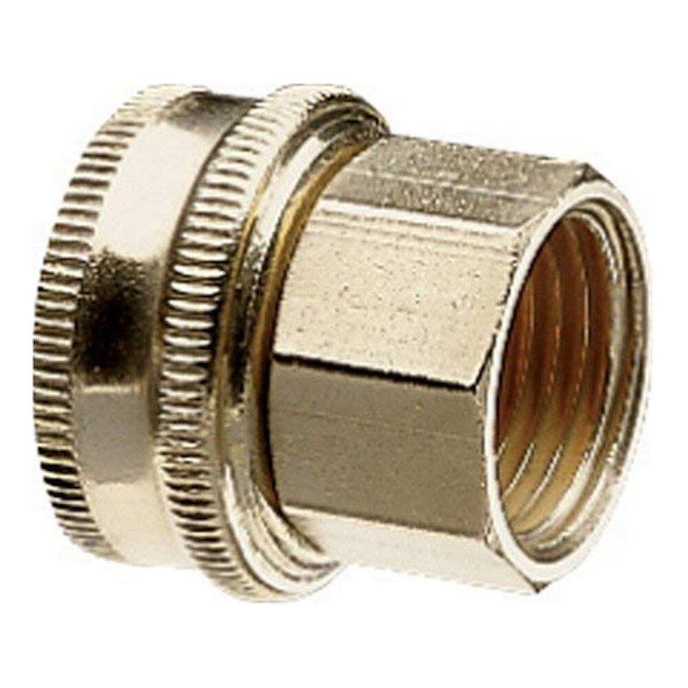 50575 3/4 FHx1/2 FP SWVL Brass Pipe to Hose Fitting