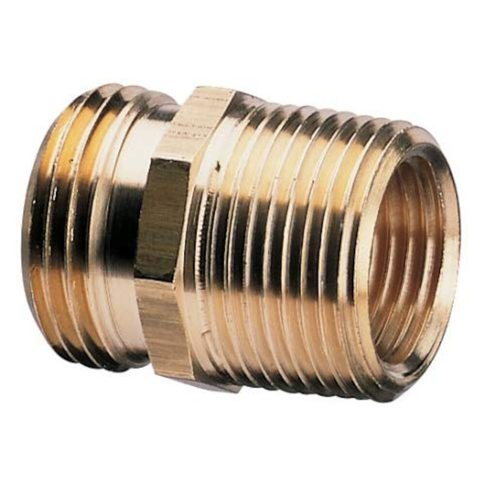 50572 3/4MHx1/2FPS - 3/4 MPT Brass Pipe to Hose Fitting