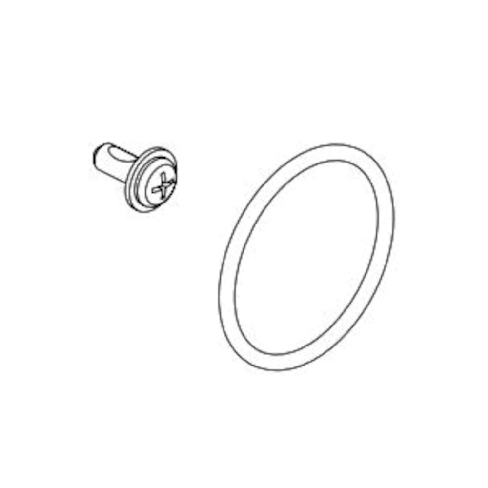 Brizo® RP100983 Screw and O-Ring, 0.38 in OAL, Domestic