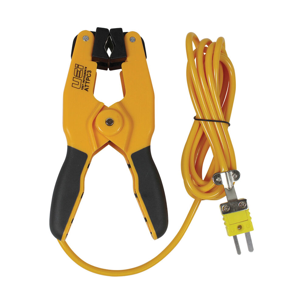 UEi Test Instruments™ ATTPC3 Grip Style K-Type Pipe Clamp Probe