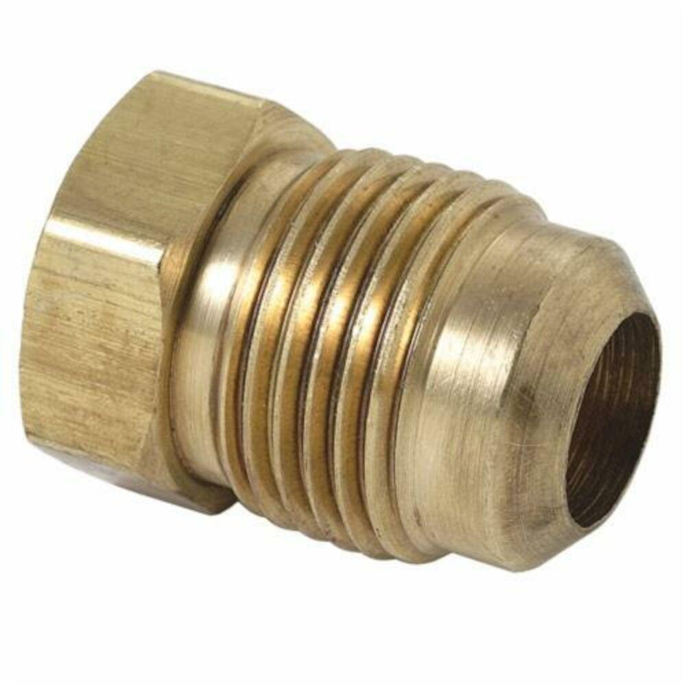 BrassCraft® 39 Series Flare Plug, OD Tube, Brass